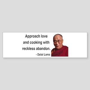Dalai Lama 10 Bumper Sticker