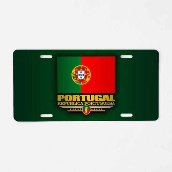 Portugal (v15) Aluminum License Plate