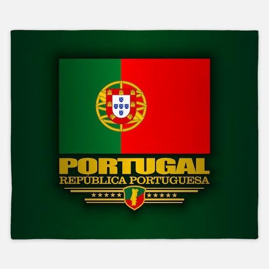 Portugal (v15) King Duvet