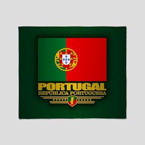 Portugal (v15) Throw Blanket