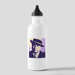 Al Capone Pop Art Water Bottle