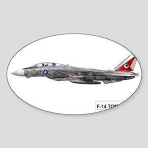 VF-14 Tophatters Rectangle Sticker