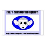 SAMPLE Rectangle Sticker