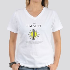 I am a Paladin Women's V-Neck T-Shirt