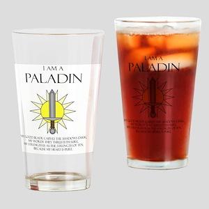 I am a Paladin Drinking Glass