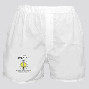 I am a Paladin Boxer Shorts