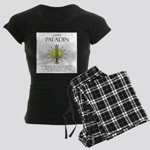 I am a Paladin Women's Dark Pajamas