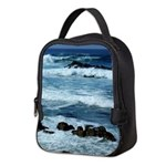 Pacific Ocean Waves Neoprene Lunch Bag