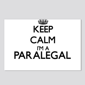 Keep calm I'm a Paralegal Postcards (Package of 8)
