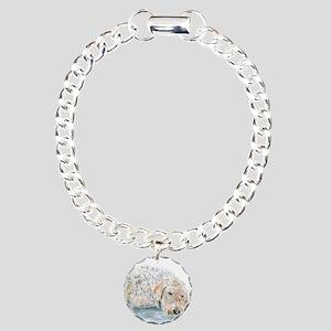 Sleepy Labradoodle Bracelet
