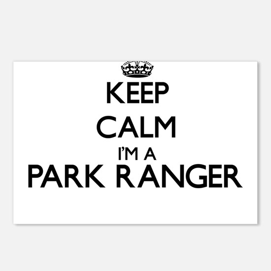 Keep calm I'm a Park Rang Postcards (Package of 8)