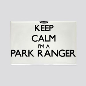 Keep calm I'm a Park Ranger Magnets