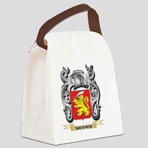 Shermer Coat of Arms - Family Cre Canvas Lunch Bag