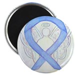 Periwinkle Ribbon Angel Magnets