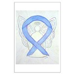 Periwinkle Ribbon Angel Posters