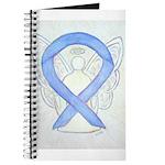 Periwinkle Ribbon Angel Journal