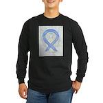 Periwinkle Ribbon Angel Long Sleeve T-Shirt