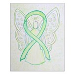 Lime Ribbon Angel Posters