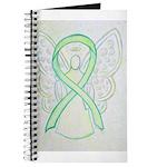 Lime Ribbon Angel Journal