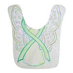 Lime Ribbon Angel Bib