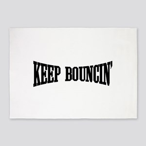 Keep Bouncin' 5'x7'Area Rug