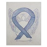 Silver Ribbon Angel Posters
