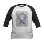 Silver Ribbon Angel Baseball Jersey