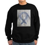 Silver Ribbon Angel Sweatshirt