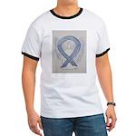 Silver Ribbon Angel T-Shirt
