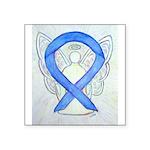 Violet Ribbon Angel Sticker