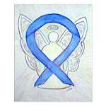 Violet Ribbon Angel Posters