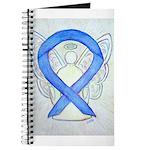 Violet Ribbon Angel Journal