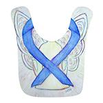 Violet Ribbon Angel Bib