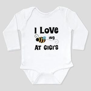 Beeing At Gigi's Long Sleeve Infant Bodysuit