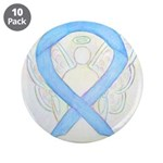Light Blue Ribbon Angel 3.5