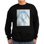 Light Blue Ribbon Angel Sweatshirt