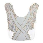 White Ribbon Angel Bib