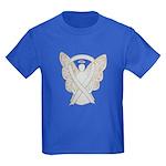 White Awareness Ribbon Guardian Angel T-Shirt