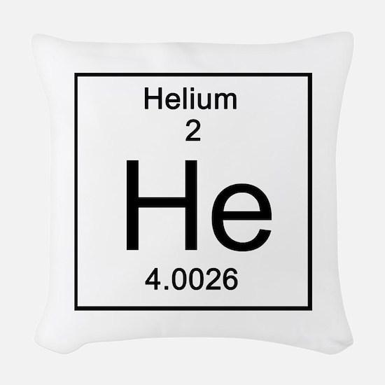 2. Helium Woven Throw Pillow