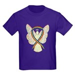 Lgbtq Rainbow Awareness Ribbon Angel T-Shirt