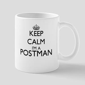 Keep calm I'm a Postman Mugs