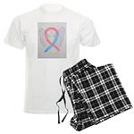Pink and Blue Angel Pajamas