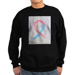 Pink and Blue Angel Sweatshirt