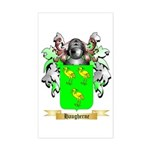 Haugherne Sticker (Rectangle)