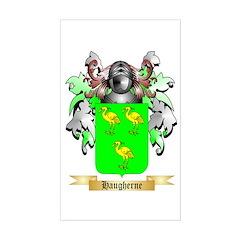 Haugherne Sticker (Rectangle)