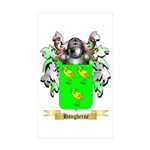 Haugherne Sticker (Rectangle 10 pk)