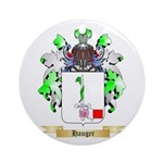 Hauger Ornament (Round)