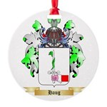 Haug Round Ornament