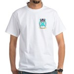 Haucock White T-Shirt