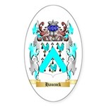 Haucock Sticker (Oval 50 pk)